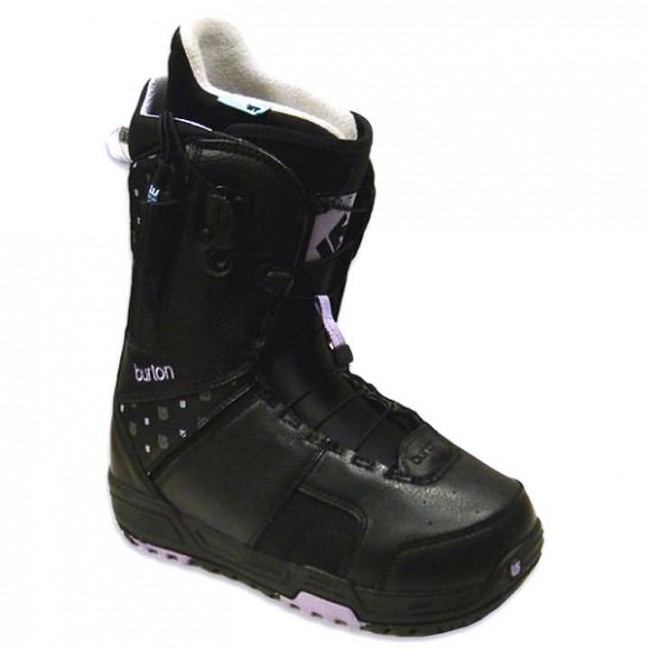 5111cf81ef Burton Women s Mint Snowboard Boots - Black Purple - Cleanline Surf