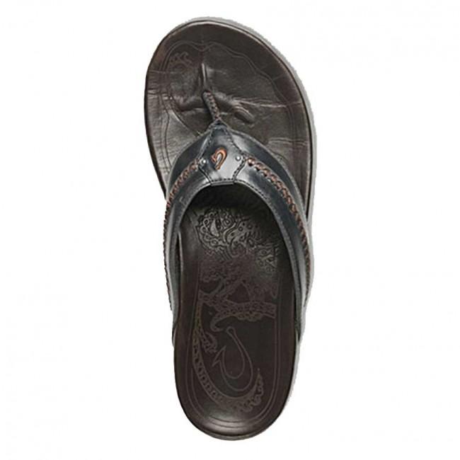 470662d178eba Olukai Mea Ola Sandals - Charcoal Dark Java - Cleanline Surf