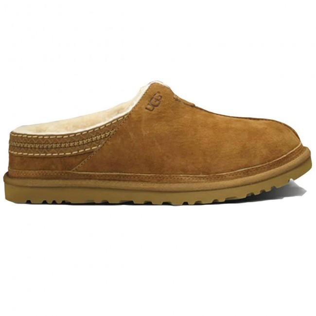 355ad94e4bd UGG Australia Men's Neuman Slippers - Chestnut