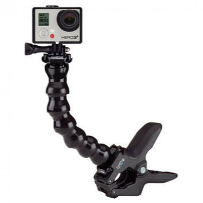 how to use gopro jaws clamp