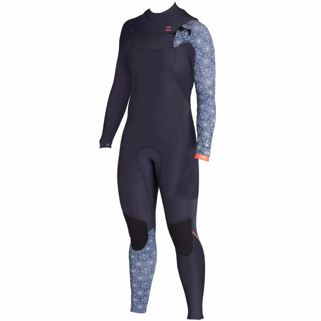 Billabong Women S Furnace Carbon Comp 4 3 Wetsuit 2016