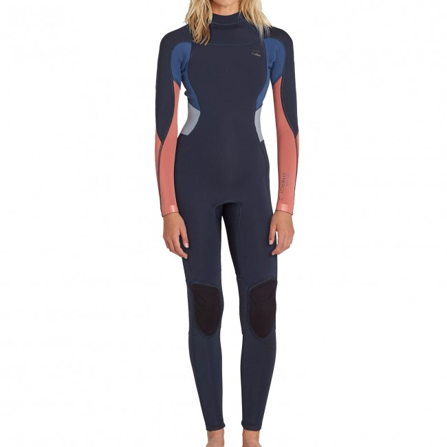 Billabong Women s Synergy 3 2 Flatlock Back Zip Wetsuit - Cleanline Surf c730a0ca8