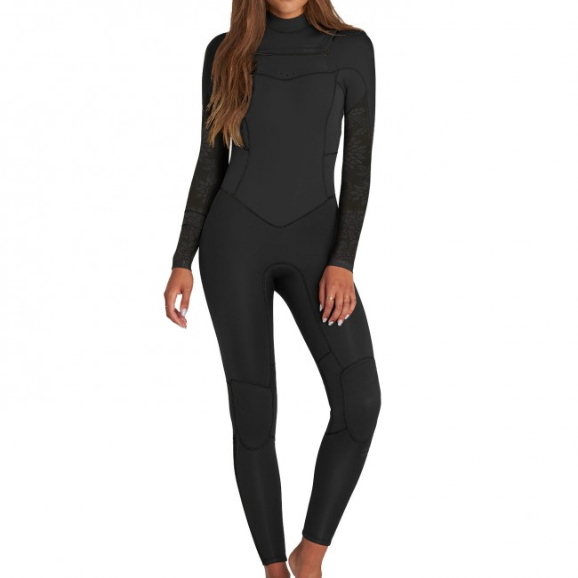 Billabong Women s Synergy 3 2 Chest Zip Wetsuit - Spring 2018 ... c3f241143
