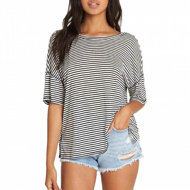 Ladies T-Shirts Billabong Essential T-Shirt White