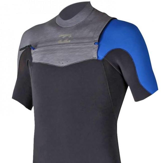 Billabong Furnace Carbon Comp 2 2 Short Sleeve Chest Zip