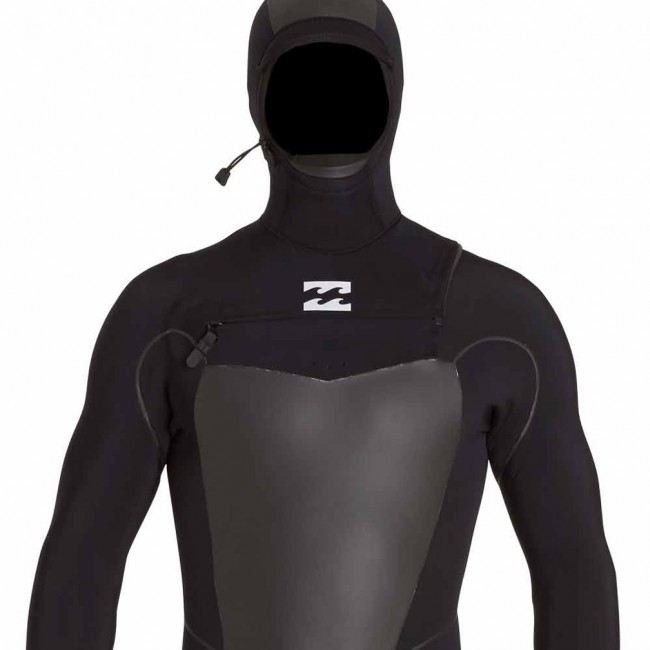 Billabong Furnace Carbon X 4 3 Hooded Chest Zip Wetsuit