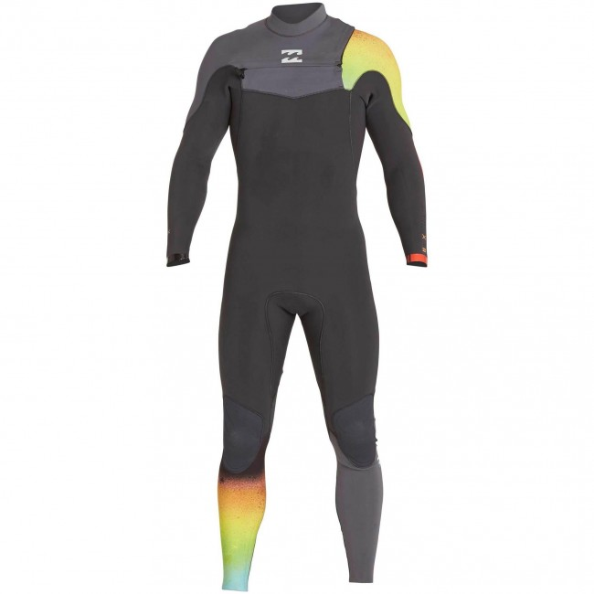 Billabong Furnace Carbon Comp 4 3 Chest Zip Wetsuit 2017