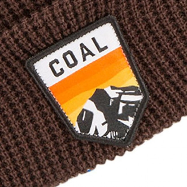 a5df25218cd Coal Summit Beanie - Brown - Cleanline Surf