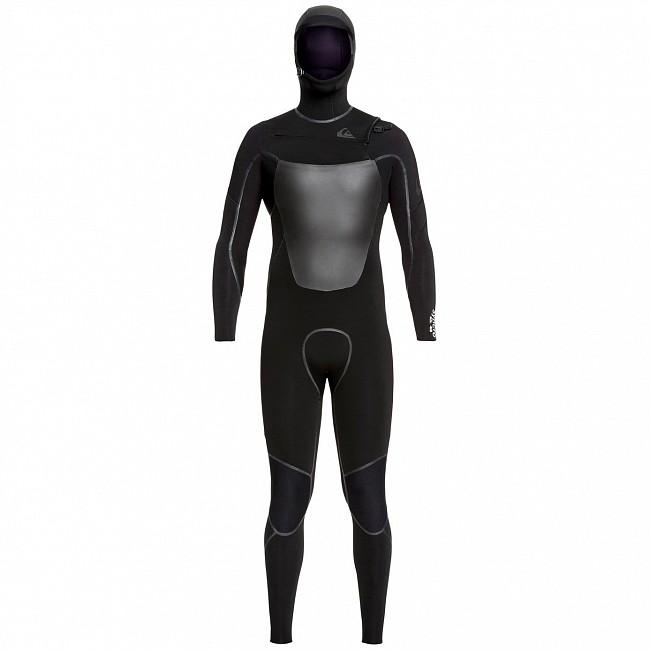 db6f736895 Quiksilver Syncro Plus 5/4/3 Hooded Chest Zip Wetsuit