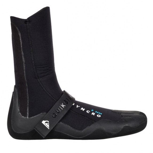 99842521e Quiksilver Syncro 5mm Round Toe Boots - Cleanline Surf