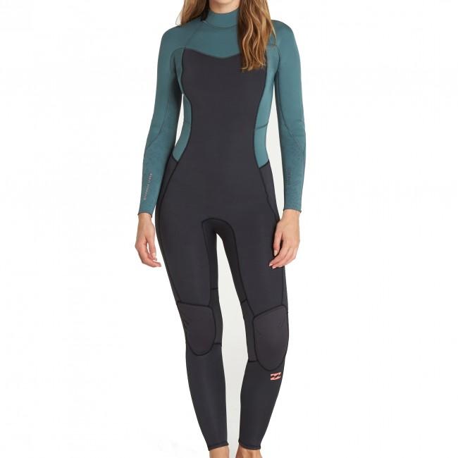 Billabong Women s Furnace Synergy 3 2 Back Zip Wetsuit - Cleanline Surf ecfedb62d