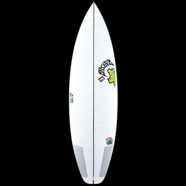 A short and stubby tri-fin: the biscuit design was developed with Rob Machado in Like Rob, the Biscuit rides free and easy in the smallest surf and catches waves like boards a foot longer.