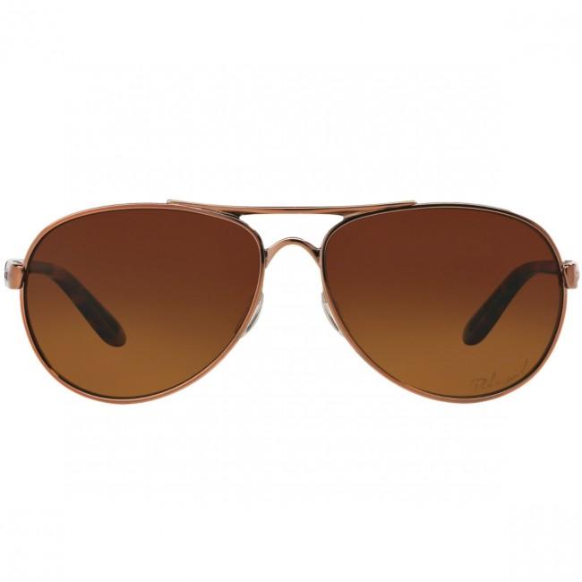84f678ea5f Oakley Women  39 s Tie Breaker Polarized Sunglasses - Rose Gold Brown  Gradient