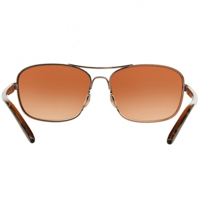 1132f6ceeb2 Oakley Women s Sanctuary Sunglasses - Rose Gold Vr50 Brown Gradient ...