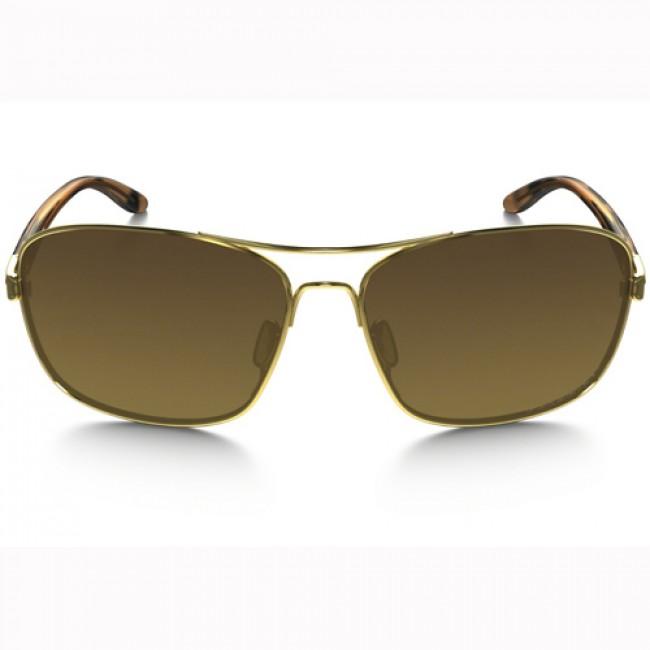 d4232a0c55961 Oakley Women s Sanctuary Polarized Sunglasses - Polished Gold Brown Gradient