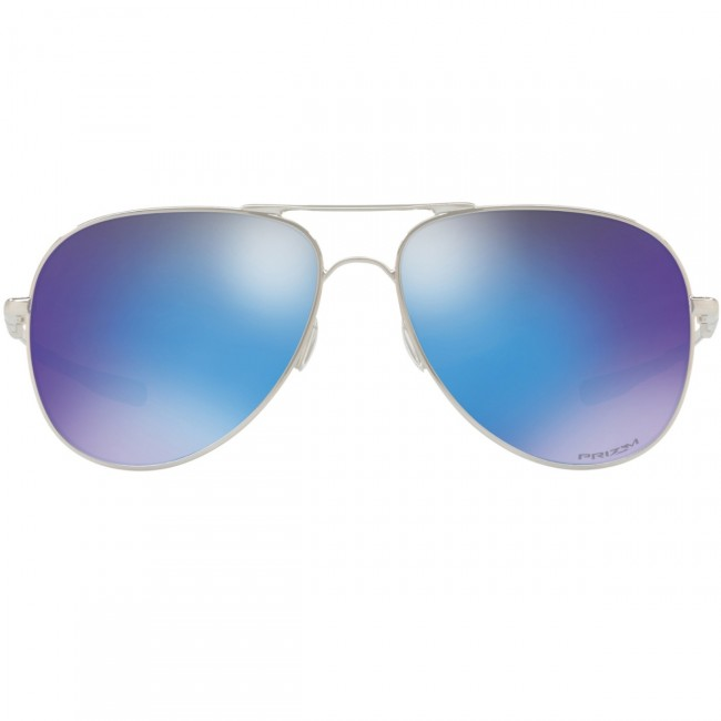 d1b2ce7b13 Oakley Elmont Sunglasses - Polished Chrome Prizm Sapphire ...