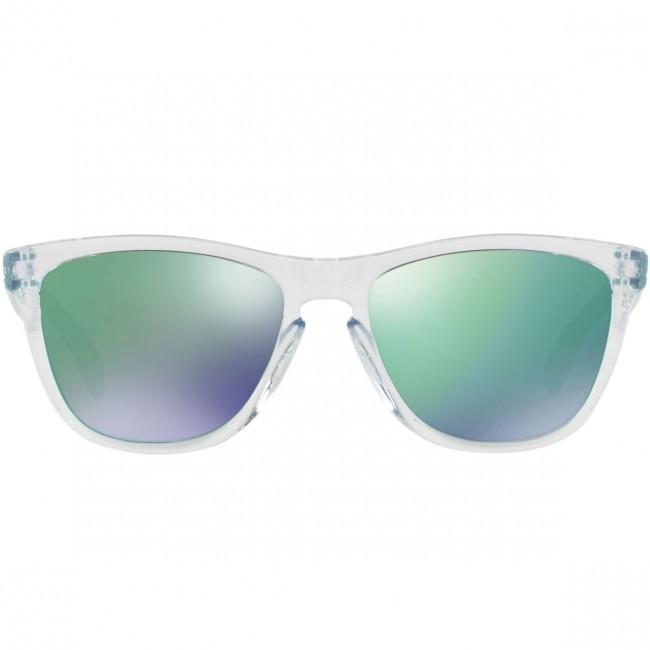 9e852200ea2 Oakley Frogskins Crystal Sunglasses - Polished Clear Jade Iridium -  Cleanline Surf