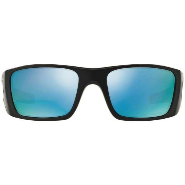 2ac8a6cdb5d Oakley Fuel Cell Polarized Sunglasses - Matte Black Prizm Deep Water ...