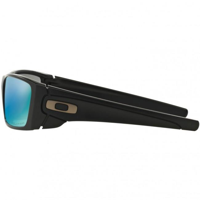 68b6aa52a6 Oakley Fuel Cell Polarized Sunglasses - Matte Black Prizm Deep Water ...