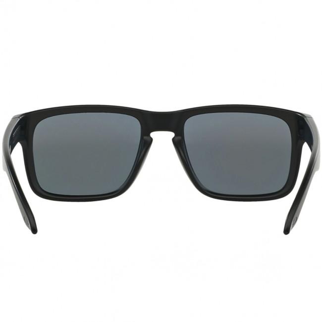 Oakley Holbrook Sunglasses - Matte Black/Positive Red ...