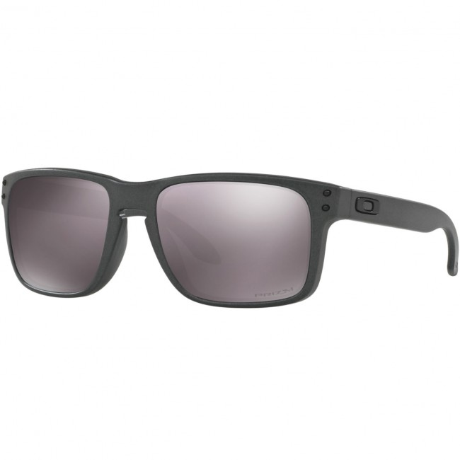 c7b4b88aed821 Oakley Holbrook Polarized Sunglasses - Steel Prizm Daily - Cleanline Surf