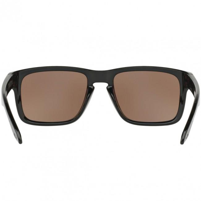 dd6cbe89e21 Oakley Holbrook Polarized Sunglasses - Polished Black Prizm Deep Wate