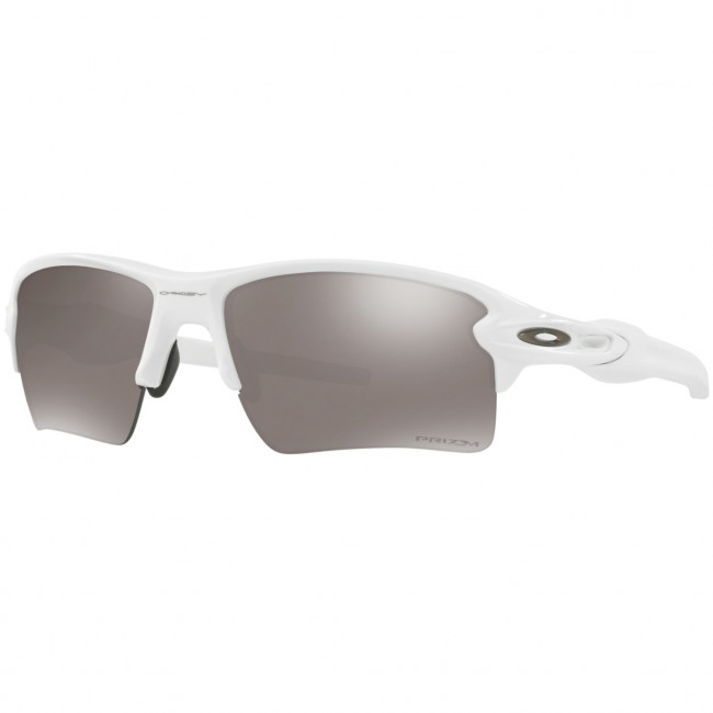 2569fef937dbf Oakley Flak 2.0 XL Polarized Sunglasses - Polished White Prizm Black -  Cleanline Surf