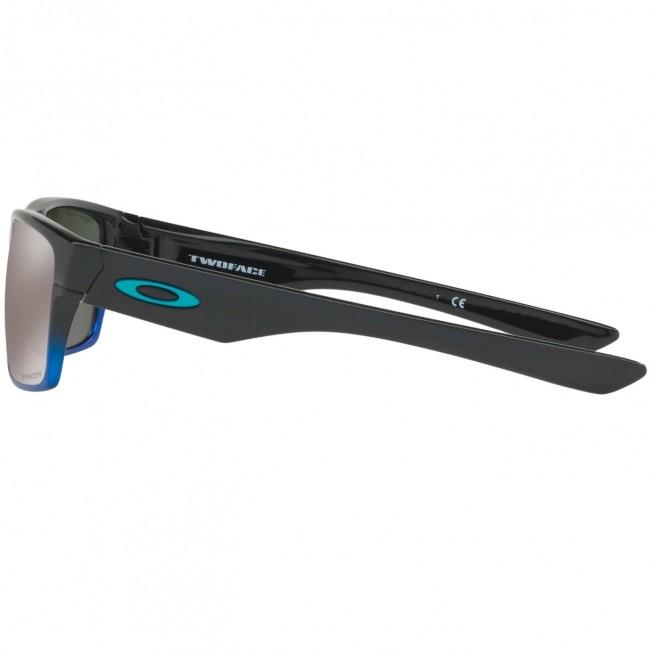 66c49de445d Oakley Twoface Polarized Sunglasses - Blue Pop Fade Prizm Black ...