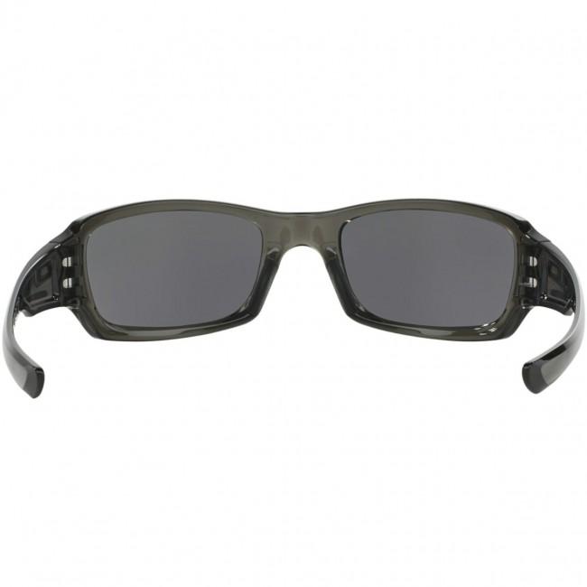 0c45f3809adb2 Oakley Fives Squared Sunglasses - Grey Smoke/Warm Grey - Cleanline Surf