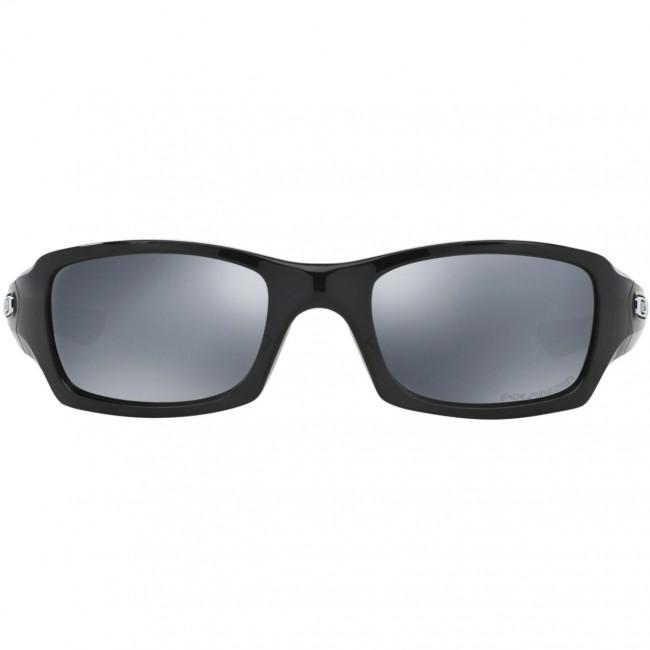 4f90f1e83a Oakley Fives Squared Polarized Sunglasses - Polished Black Black Iridium