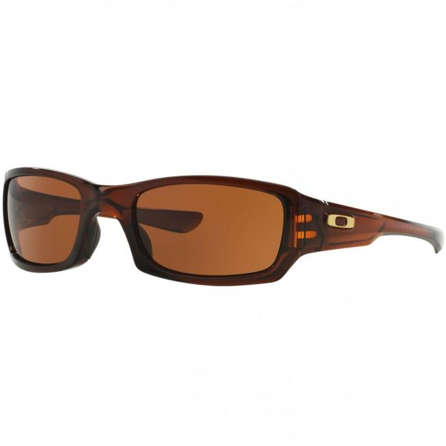 Oakley Fives Squared Sonnenbrille Polished Rootbeer/Dark Bronze FrsjOVjx