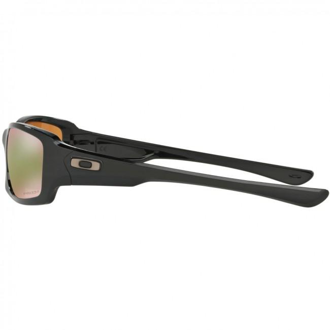 de1a1992b01 Oakley Fives Squared Polarized Sunglasses - Polished Black Prizm Shallow  Water