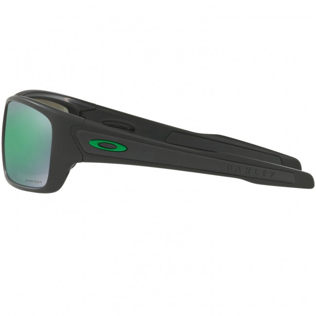 831bed20c605d Oakley Turbine Polarized Sunglasses - Matte Black Prizm Jade ...