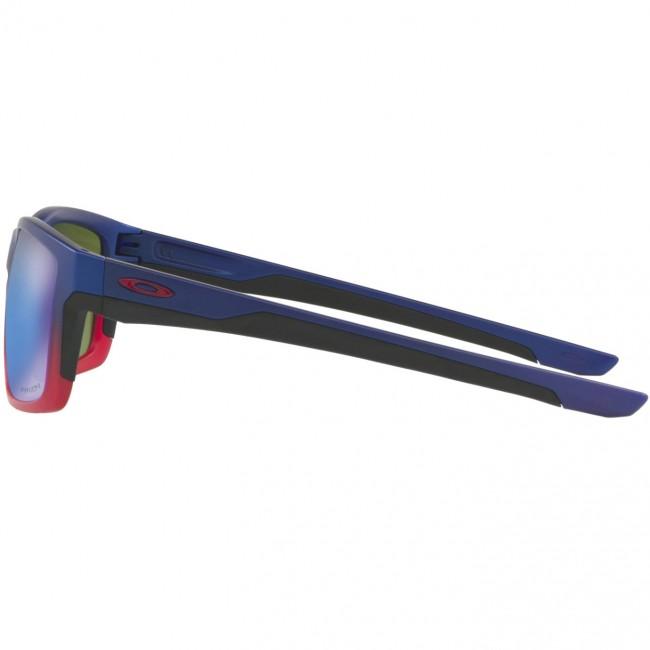 d95c0e1597 Oakley Mainlink Neon Sunglasses - Blue Pop Fade Prizm Sapphire ...