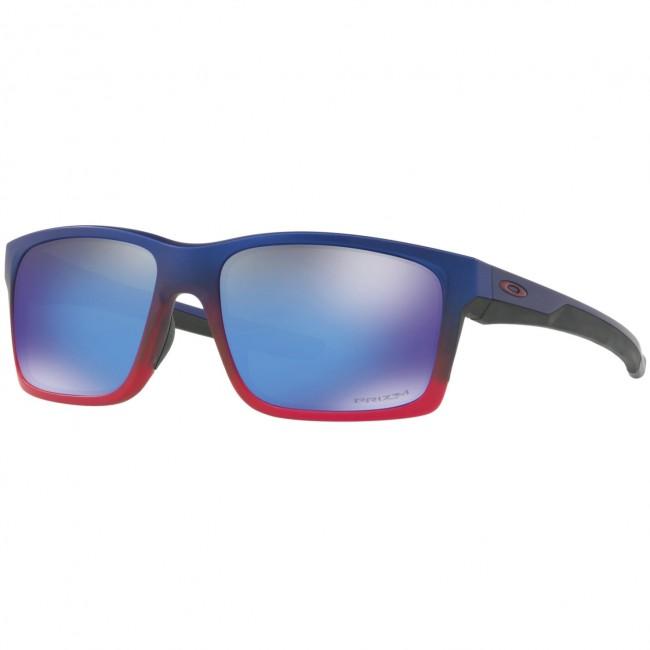 432e6d7ada Oakley Mainlink Neon Sunglasses - Blue Pop Fade Prizm Sapphire - Cleanline  Surf