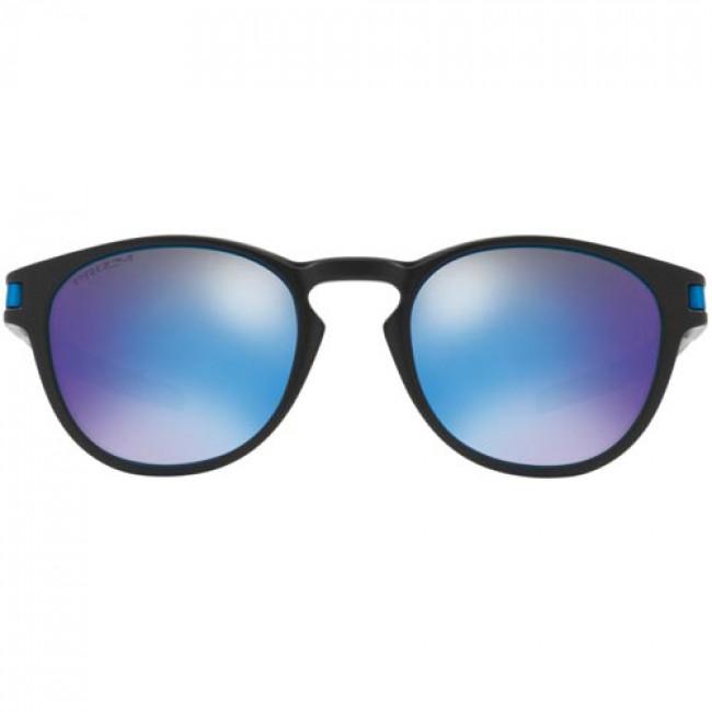 73a34f3024d Oakley Latch Sunglasses - Matte Black Prizm Sapphire - Cleanline Surf