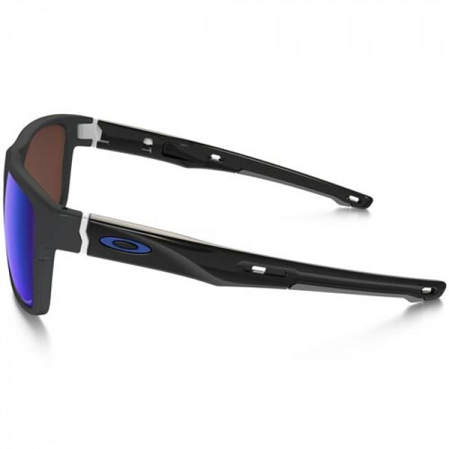 ee5268e6af0c7 Oakley Crossrange Polarized Sunglasses - Matte Dark Grey Prizm Deep Water
