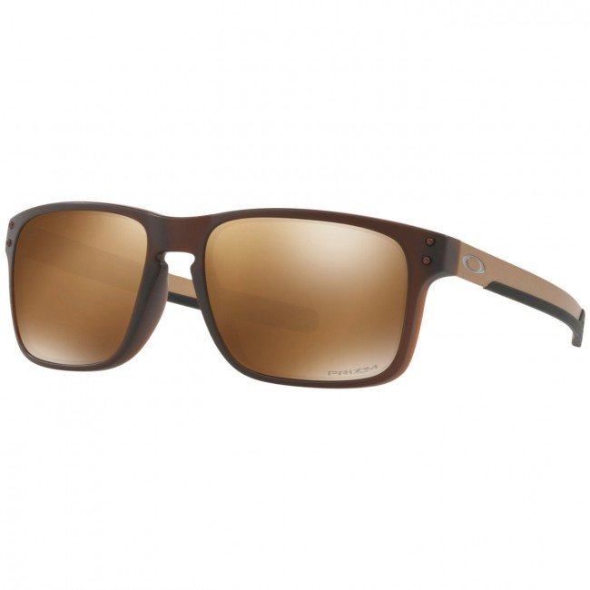 8e6747b994 Oakley Holbrook Mix Polarized Sunglasses - Matte Rootbeer Prizm Tungsten -  Cleanline Surf