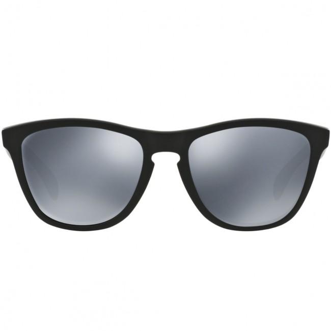 608ae56a48b Oakley Frogskins Polarized Sunglasses - Matte Black Black Iridium ...