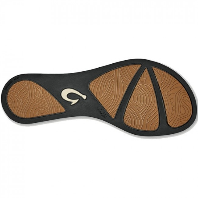 a292f7b0dd35 Olukai Women s Lala Sandals - Black Tan - Cleanline Surf