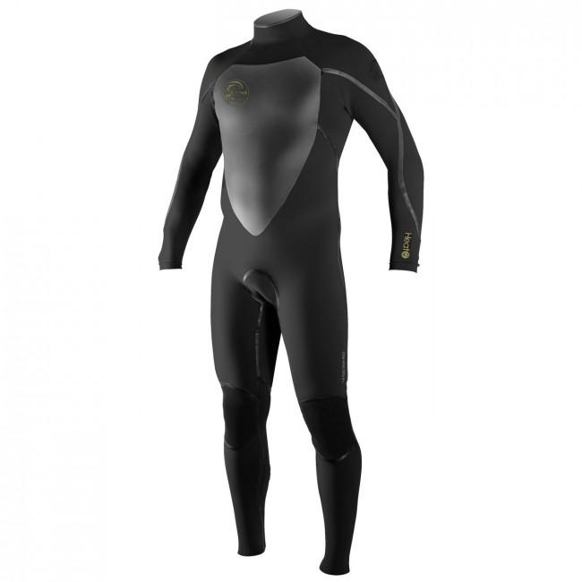 0c09604d6f O Neill Heat 4 3 Wetsuit - Black