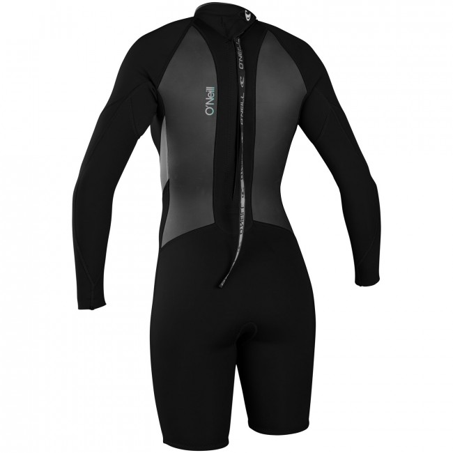 f864fde7cb O Neill Women s Bahia 2 1 Long Sleeve Spring Wetsuit - Black Lunar