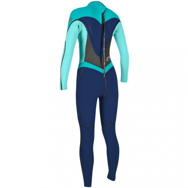 1213823f6b O Neill Women s Flair 3 2 Wetsuit - Navy Seaglass Aqua