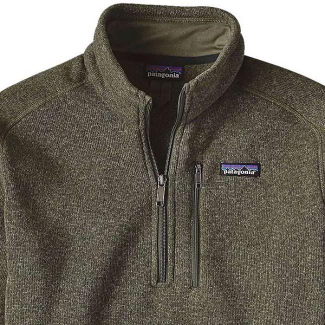 Patagonia Better Sweater 1 4 Zip Fleece Industrial Green