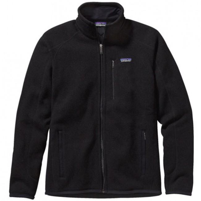 4a3751a993 Patagonia Better Sweater Fleece Jacket - Black