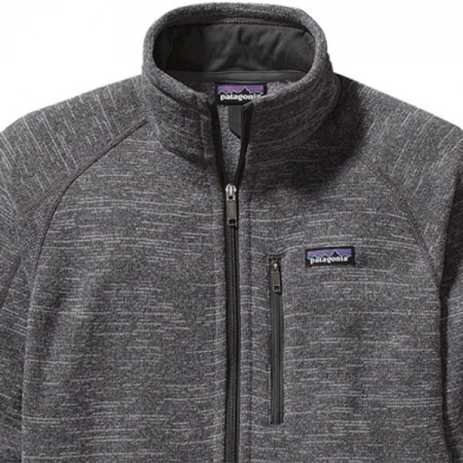 Patagonia Better Sweater Fleece Jacket Nickel Forge Grey