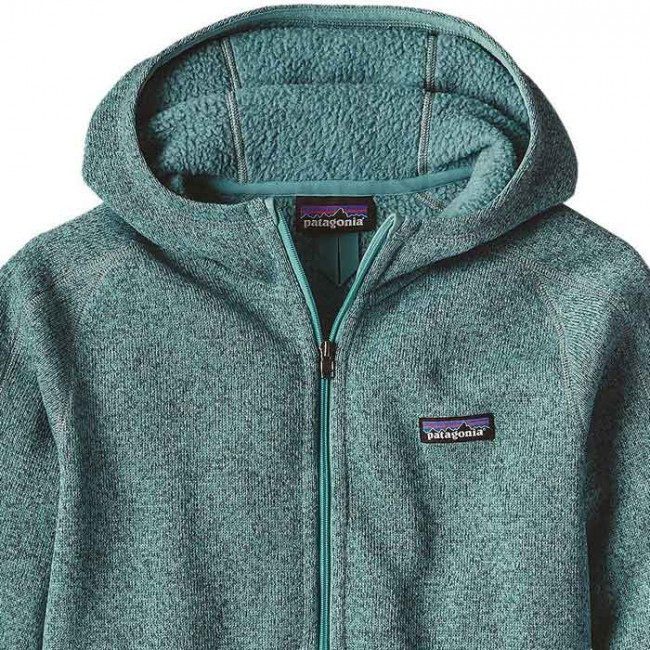 Patagonia Womens Better Sweater Full Zip Hoody Mogul Blue