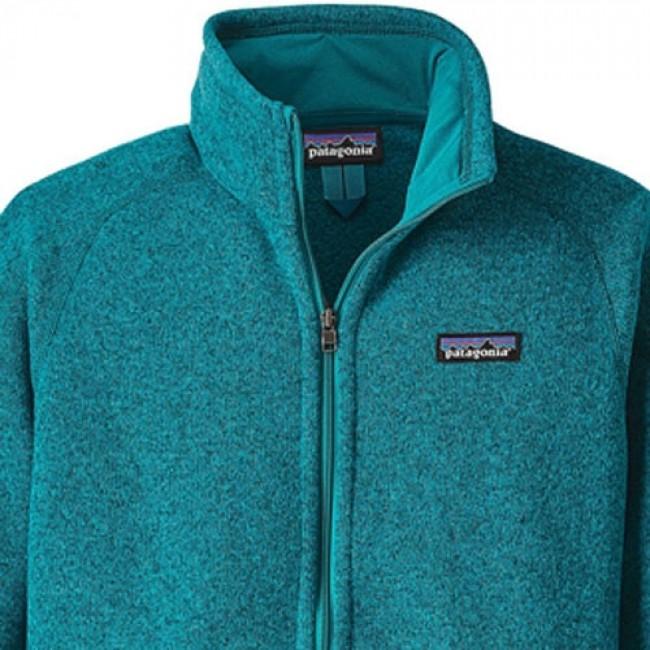 Patagonia Womens Better Sweater Fleece Jacket Elwha Blue