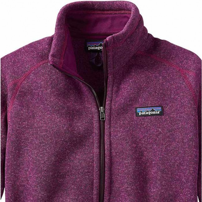 Patagonia Women S Better Sweater Fleece Jacket Violet