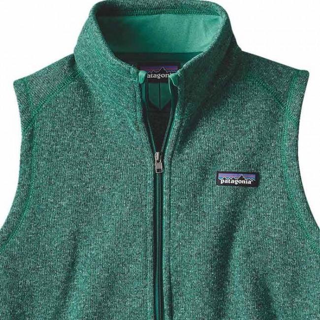 Patagonia Womens Better Sweater Fleece Vest Impact Green